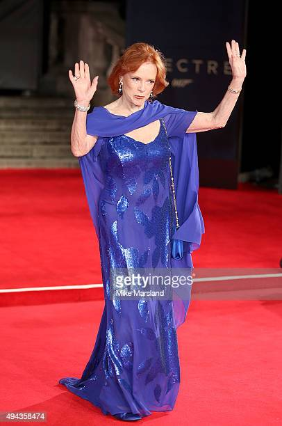 Luciana Paluzzi attends the Royal Film Performance of Spectre at Royal Albert Hall on October 26 2015 in London England