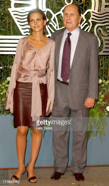 Luciana Pedraza and Robert Duvall during 2003 San Sebastian Film Festival Robert Duvall Receives Honorary Donostia Prize for Lifetime Achievement at...