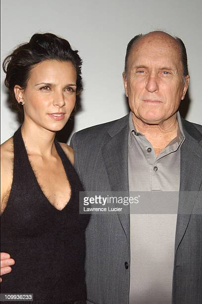Luciana Pedraza and Robert Duvall during Premiere of Robert Duvall's Assasination Tango at Angelika Theater in New York New York United States