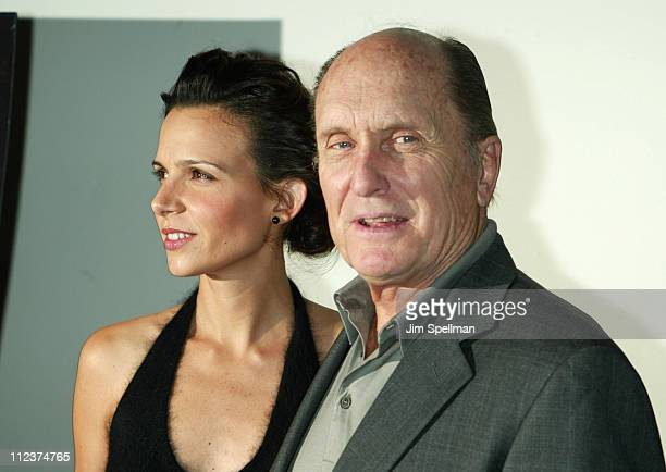Luciana Pedraza Robert Duvall during Assassination Tango Premiere New York at The Angelika Film Center in New York City New York United States