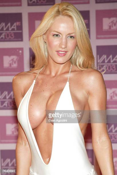Luciana Salazar arrives at the MTV Video Music Awards Latin America 2003 at the Jackie Gleason Theater on October 23 2003 in Miami Florida
