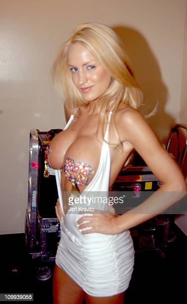 Luciana Salazar during MTV Video Music Awards Latin America 2003 Backstage and Audience at Jackie Gleason Theater in Miami Beach Florida United States