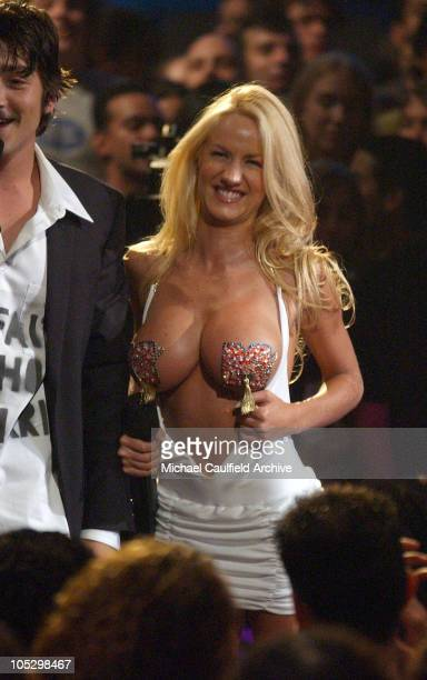 Luciana Salazar during MTV Video Music Awards Latin America 2003 Show at The Jackie Gleason Theater in Miami Beach Florida United States