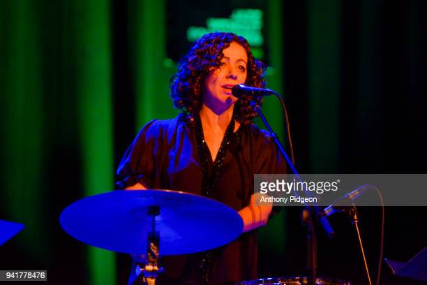 Luciana Souza of Luciana Souza's Word Strings perform on stage at Revolution Hall as part of PDX Jazz Festival in Portland Oregon USA on 18th...