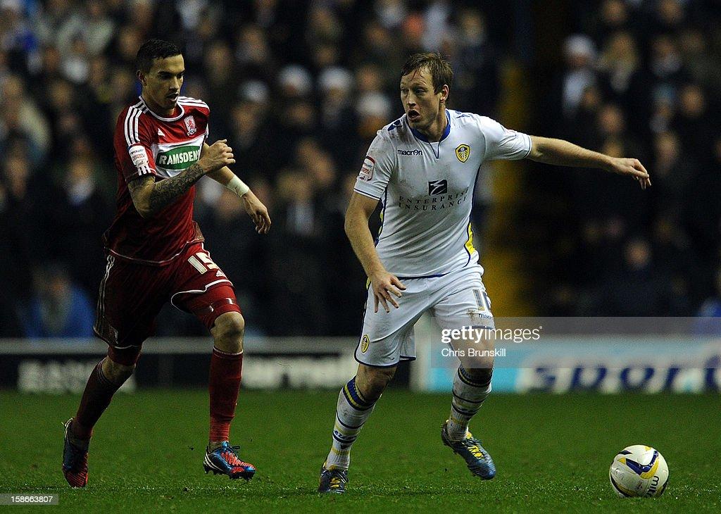 Leeds United v Middlesbrough - npower Championship