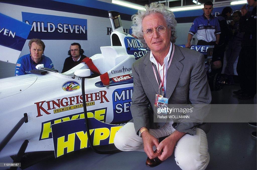 F1 Grand Prix in Argentina on Avril 07, 1996. : News Photo