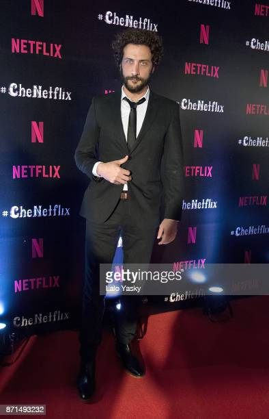Luciano Caceres attends the 'Che Netflix' red carpet at the Four Season Hotel on November 7 2017 in Buenos Aires Argentina
