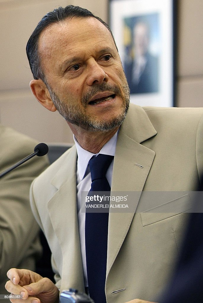 Luciano Coutinho, president of Brazil's : News Photo
