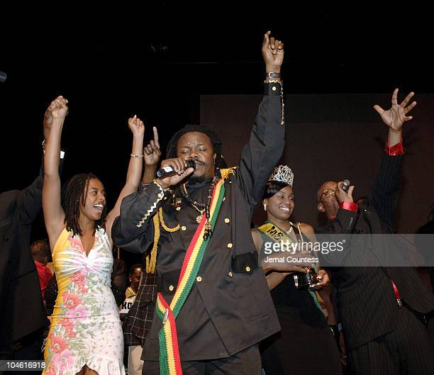 Luciano during 24th International Reggae and World Music Awards at Alfred Lerner Hall at Columbia University in New York City New York United States