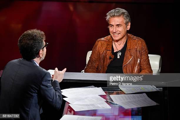 Luciano Ligabue attends 'Che Tempo Che Fa' Tv Show on May 15 2016 in Milan Italy