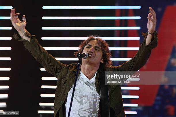 Luciano Ligabue attends the 2010 Wind Music Awards on May 29 2010 in Verona Italy