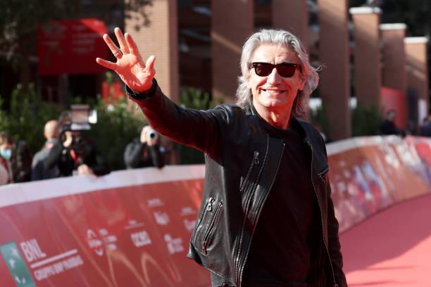 """ITA: """"Luciano Ligabue And Fabrizio Moro"""" Close Encounter Red Carpet - 16th Rome Film Fest 2021"""