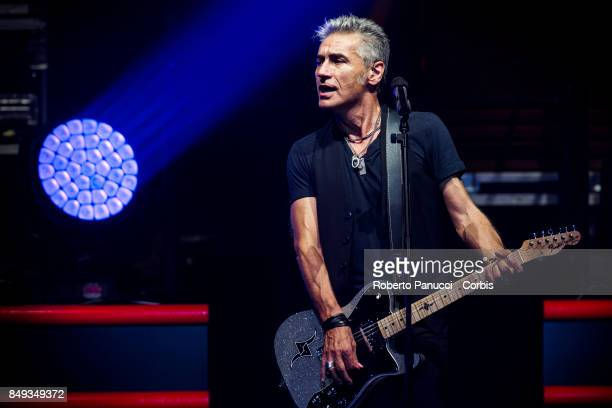 Luciano Ligabue perform on September 12 2017 in Rome Italy