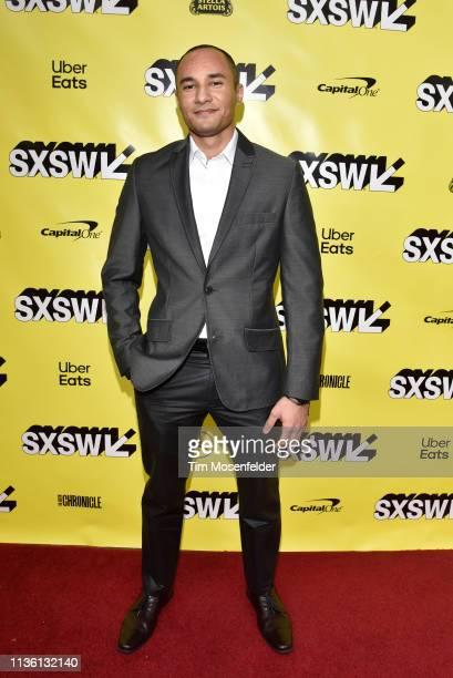 Luciano Nascimento attends the premiere of Band Together with Logic during the 2019 SXSW Conference and Festival at the Paramount Theatre on March 15...