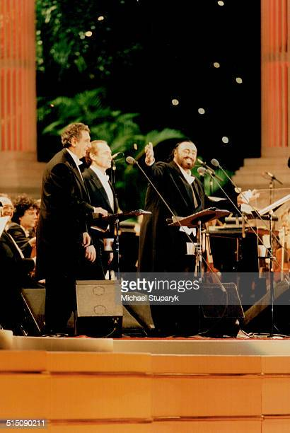 Luciano Pavarotti Three Tenors Tours