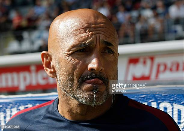 Luciano Spalletti during Serie A match between Torino v Roma in Turin on September 25 2016