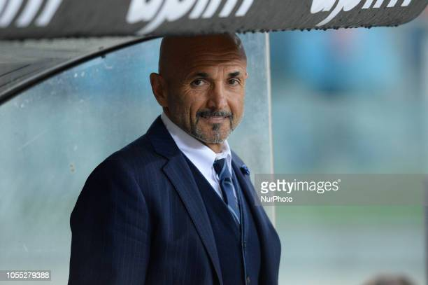Luciano Spalletti during the Italian Serie A football match between SS Lazio and Inter at the Olympic Stadium in Rome on october 29 2018