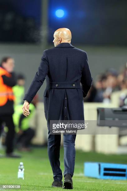 Luciano Spalletti manager of FC Internazionale during the serie A match between ACF Fiorentina and FC Internazionale at Stadio Artemio Franchi on...