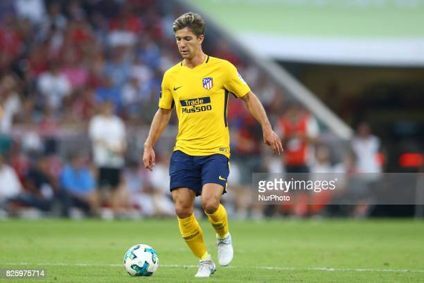 Luciano Vietto of Atletico de Madrid during the Audi Cup 2017 match between Liverpool FC and Atletico Madrid at Allianz Arena on August 2 2017 in...