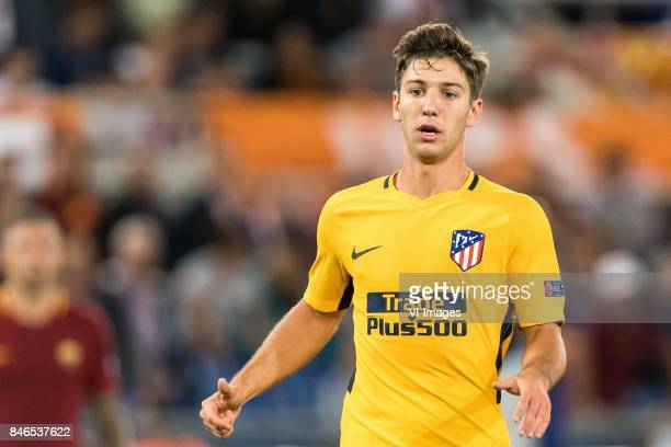 Luciano Vietto of Club Atletico de Madrid during the UEFA Champions League group C match match between AS Roma and Atletico Madrid on September 12...