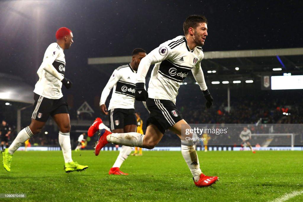 Fulham FC v Brighton & Hove Albion - Premier League : News Photo
