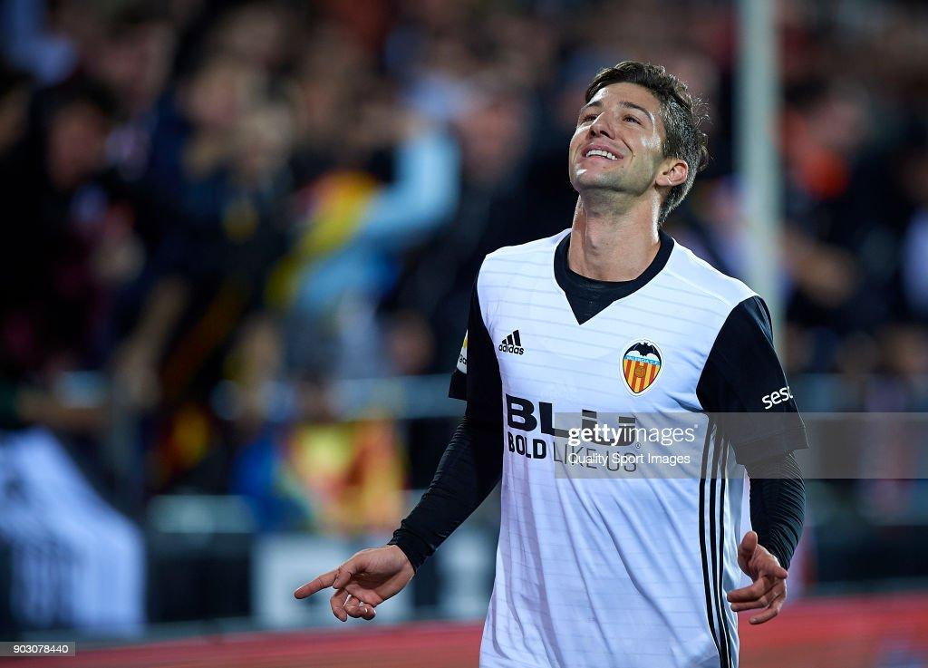 Valencia v Las Palmas - Copa Del Rey : News Photo