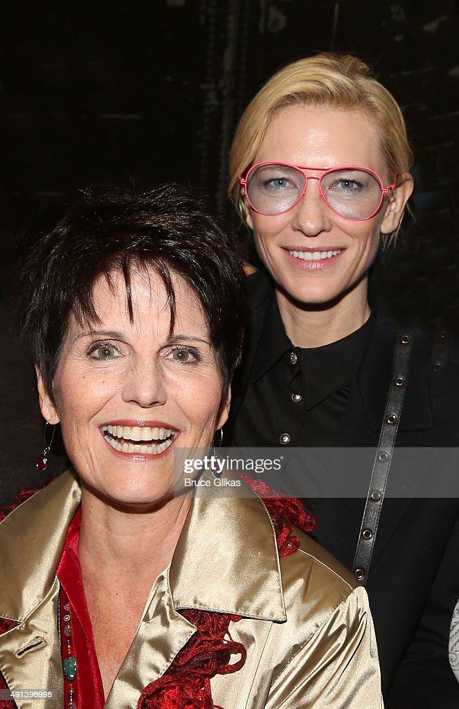 Celebrities Visit Broadway - October 4, 2015 : News Photo