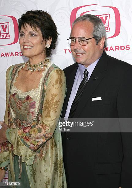 Lucie Arnaz and Desi Arnaz Jr during 5th Annual TV Land Awards Arrivals at Barker Hangar in Santa Monica California United States
