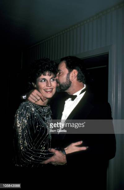 Lucie Arnaz and Laurence Luckinbill during A Tribute to Gwen Verdon and Cy Coleman February 25 1985 at Waldorf Astoria in New York City New York...