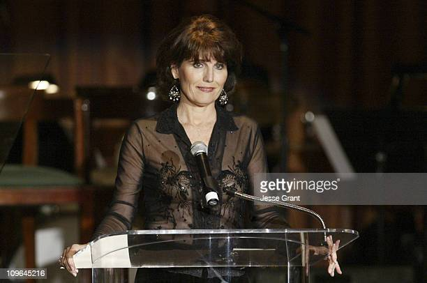 Lucie Arnaz during Academy of Television Arts and Sciences Hall of Fame Ceremony Show at The Beverly Hills Hotel in Beverly Hills California United...