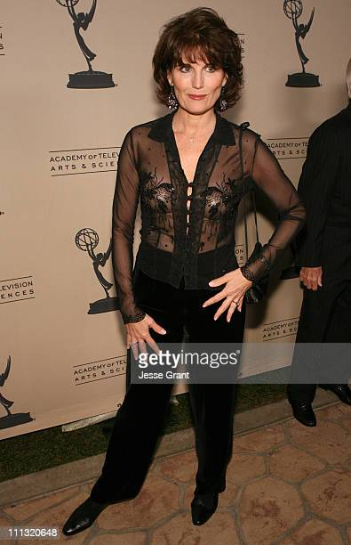 Lucie Arnaz during Academy of Television Arts and Sciences Hall of Fame Ceremony Arrivals at The Beverly Hills Hotel Crystal Ballroom in Beverly...
