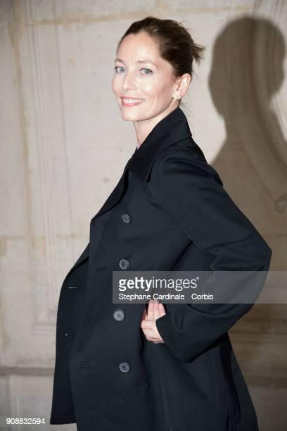 Lucie De La Falaise attends the Christian Dior Haute Couture Spring Summer 2018 show as part of Paris Fashion Week January 22 2018 in Paris France