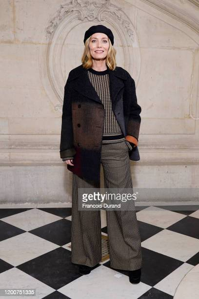 Lucie de la Falaise attends the Dior Haute Couture Spring/Summer 2020 show as part of Paris Fashion Week on January 20, 2020 in Paris, France.