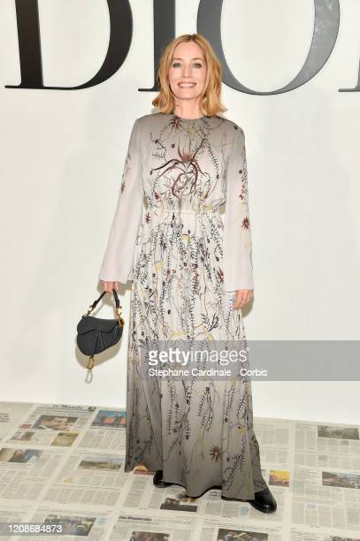 Lucie de la Falaise attends the Dior show as part of the Paris Fashion Week Womenswear Fall/Winter 2020/2021 on February 25 2020 in Paris France