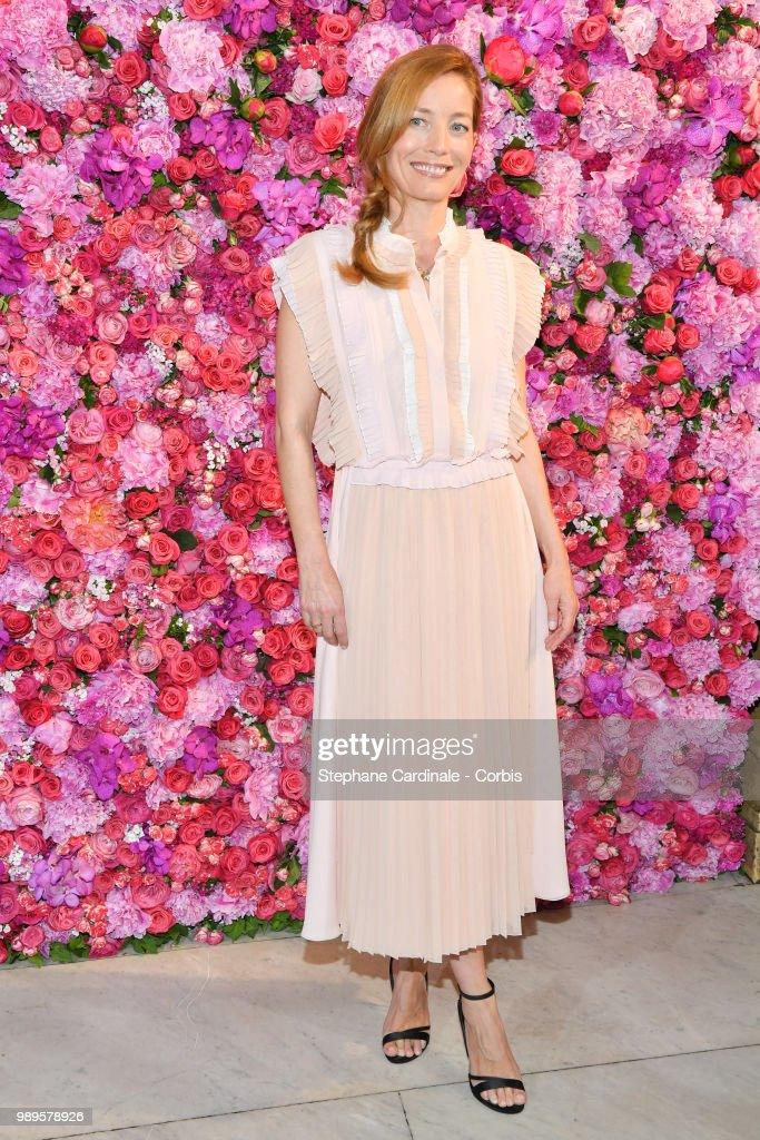 Lucie De La Falaise attends the Schiaparelli Haute Couture Fall/Winter 2018-2019 show as part of Haute Couture Paris Fashion Week on July 2, 2018 in Paris, France.
