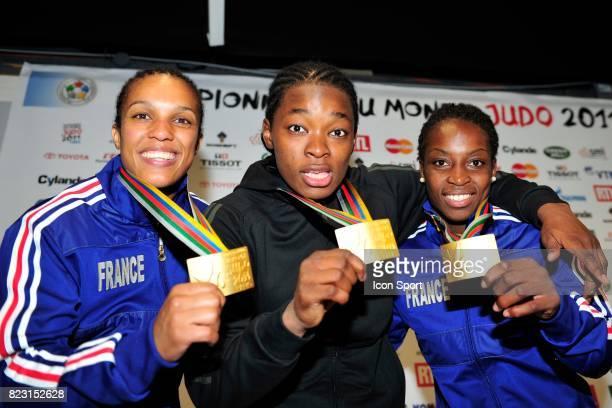 Lucie DECOSSE / Audrey TCHEUMEO / Gevrise EMANE Championnats du Monde de Judo 2011 Paris