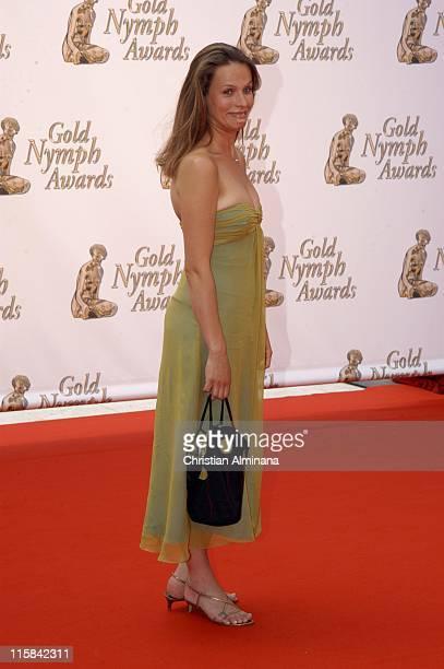Lucie Jeanne during 45th Monte Carlo Television Festival Closing Award Ceremony at Grimaldi Forum in Monte Carlo Monaco