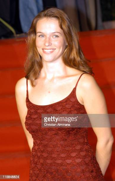 Lucie Jeanne during The 2004 St Tropez Television Festival Premier Secours Premiere at St Tropez in St Tropez France
