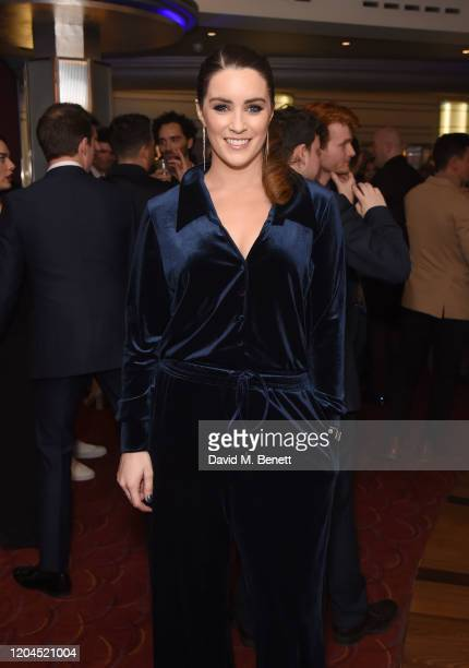 Lucie Jones attends The WhatsOnStage Awards 2020 at The Prince of Wales Theatre on March 1 2020 in London England