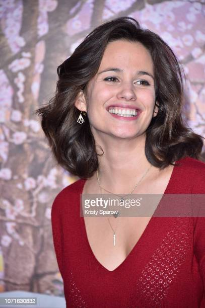 Lucie Lucas attends Disney's Mary Poppins Returns Paris Gala Screening at UGC Cine Cite Bercy on December 10 2018 in Paris France