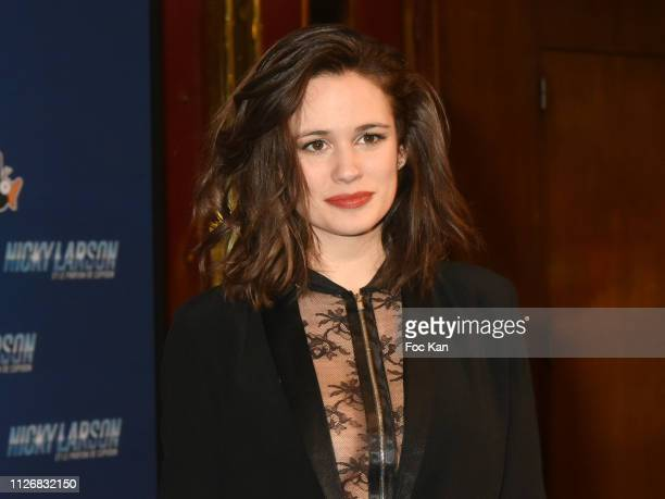 Lucie Lucas attends Nicky Larson Et Le Parfum de Cupidon Premiere At Le Grand Rex on February 1 2019 in Paris France