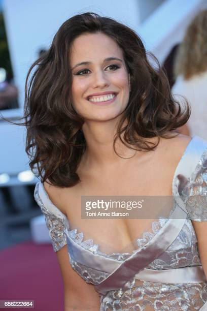 Lucie Lucas attends the 120 Battements Par Minutes screening during the 70th annual Cannes Film Festival at Palais des Festivals on May 20 2017 in...