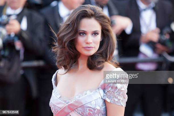 Lucie Lucas attends the '120 Battements Par Minutes ' screening during the 70th annual Cannes Film Festival at Palais des Festivals on May 20 2017 in...
