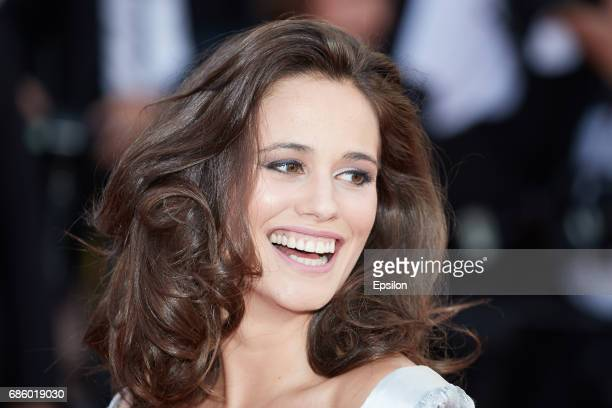 Lucie Lucas attends the 120 Beats Per Minute screening during the 70th annual Cannes Film Festival at Palais des Festivals on May 20 2017 in Cannes...