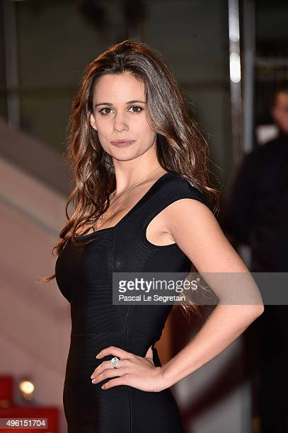 Lucie Lucas attends the 17th NRJ Music Awards at Palais des Festivals on November 7 2015 in Cannes France