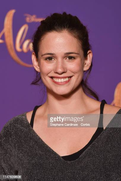 "Lucie Lucas attends the ""Aladdin"" Paris Gala Screening at Cinema Le Grand Rex on May 08 2019 in Paris France"