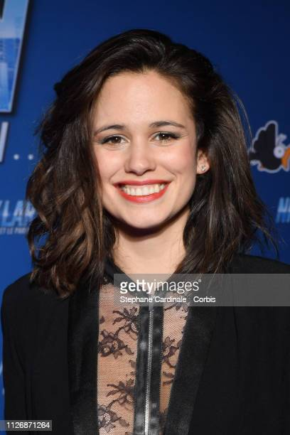 Lucie Lucas attends The Nicky Larson Et Le Parfum De Cupidon Premiere February 01 2019 in Paris France