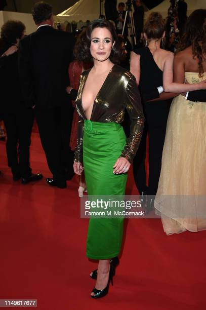 Lucie Lucas attends the screening of Sorry We Missed You during the 72nd annual Cannes Film Festival on May 16 2019 in Cannes France
