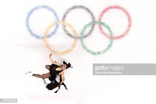 Lucie Mysliveckova and Lukas Csolley of Slovakia compete in the Figure Skating Ice Dance Free Dance on day eleven of the PyeongChang 2018 Winter...