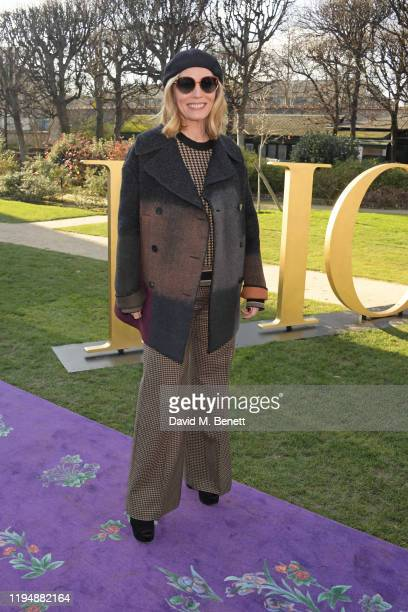 Lucie Richards attends the Dior Haute Couture Spring/Summer 2020 show as part of Paris Fashion Week at Musee Rodin on January 20 2020 in Paris France